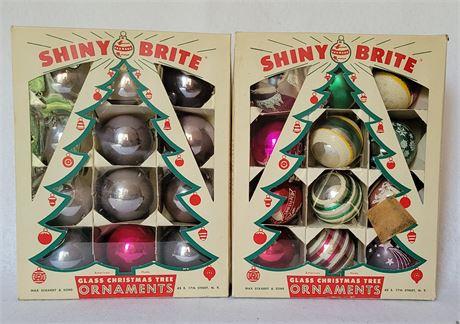 Shiny Brite Ornament Lot #1