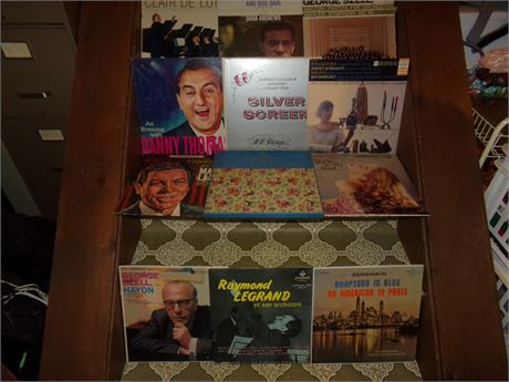 Assortment of records