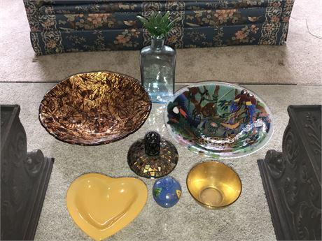 Art Glass Lot