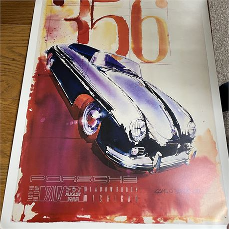 Collector's Poster from 1988 Eastern Holiday Car Show