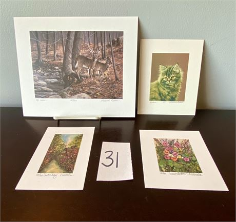 Signed & Numbered Lithographs - Gerald H. Lubeck & Kathleen Maguire Morolda - #4