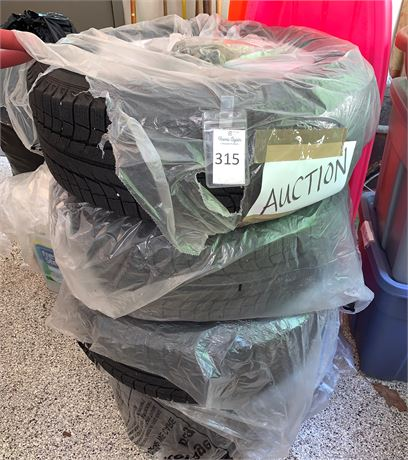 Set of 4 Michelin Snow Tires
