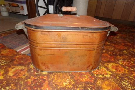 Copper Boiler Pot