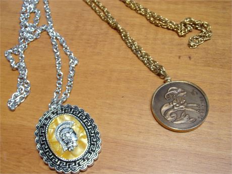 2 Costume Necklaces