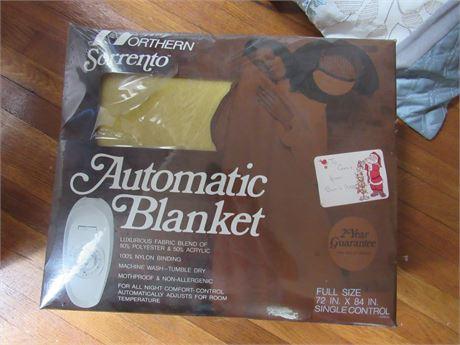 Vintage Electric Blanket, New