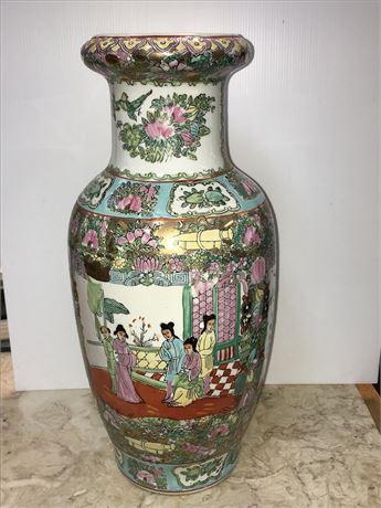 Antique Chinese Porcelain Vase - Artist Signed