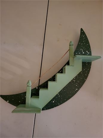 Stairway To Heaven Wall Shelf