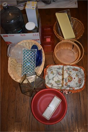 Storage/Basket lot and more