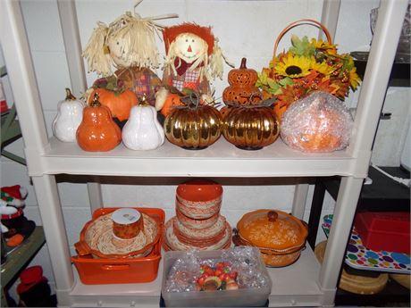 Thanksgiving Decor & China