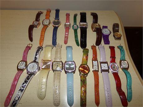 Ladies Fashion Watches Lot