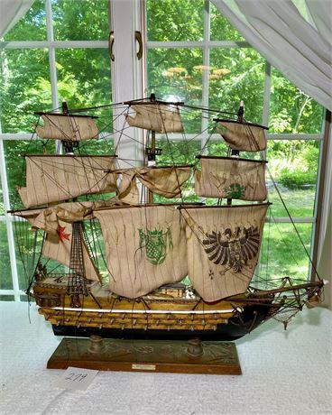 Navio Espanol Ano 1690 Wood Replica Ship
