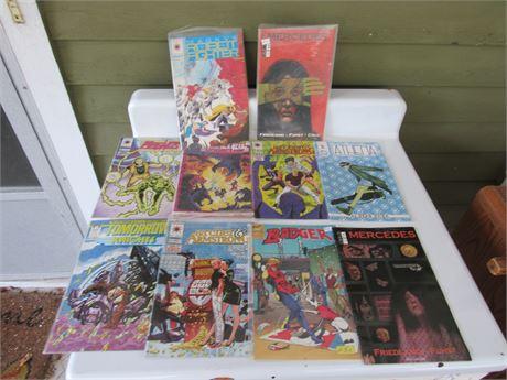 Comic Book Lot: Mercedes