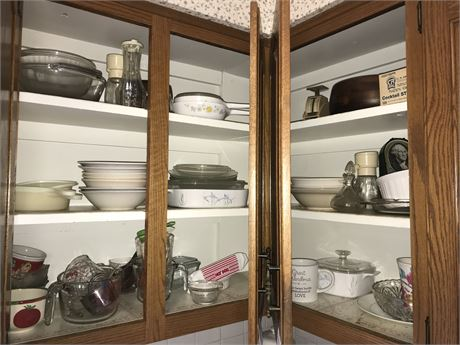 Upper Kitchen Cabinet Lot (3 cabinets)