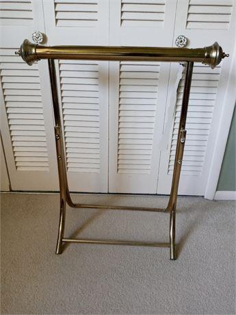 Brass Quilt Rack