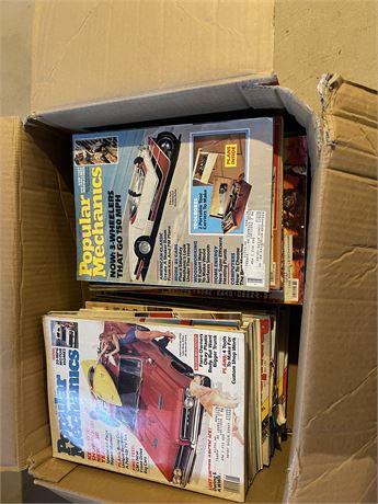 Popular Mechanics and Book Lot (see description)