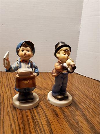 2 Vintage Hummels Postman + Serenade
