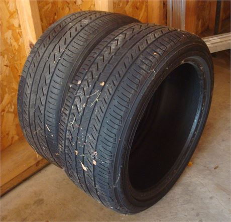 Pair of Yokohama Tires