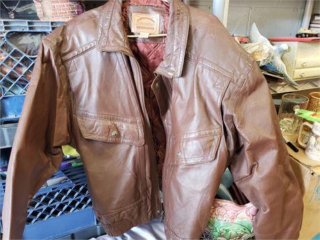 St. Johns Bay XL Leather Jacket