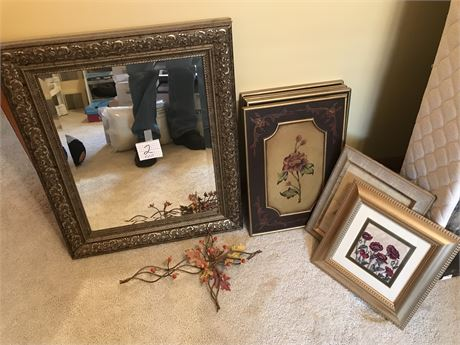 8 Piece Wall Decor Lot