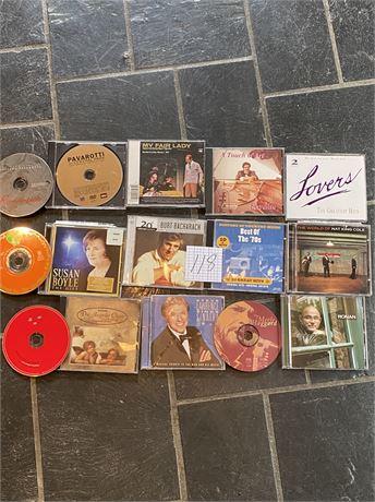 Miscellaneous CDs Lot