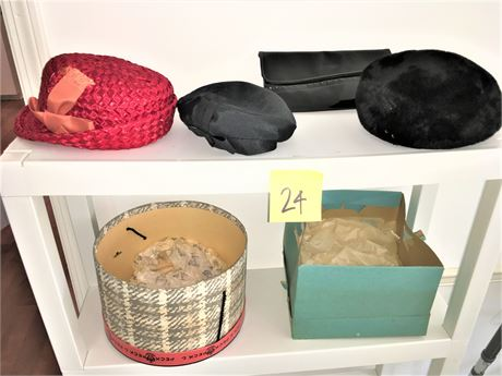 Ladies Vintage Casual and Dress Hats