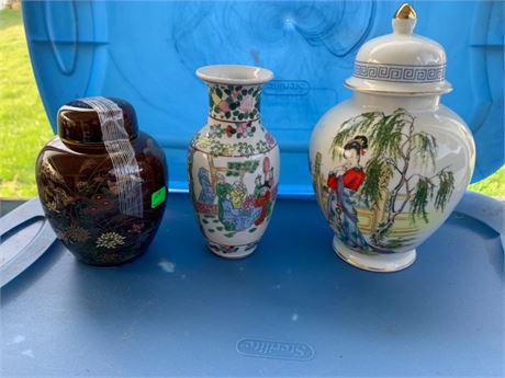 Vintage Vases- Japan
