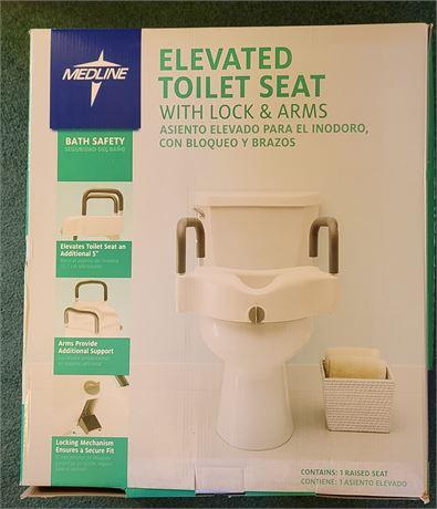 Elevated Toilet Seat - Medline