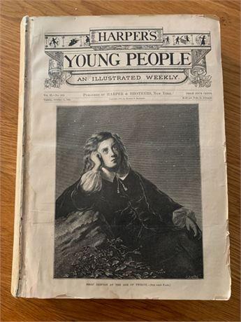 Vintage Harper's Young People