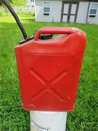 Vintage Jerry Can Gas Can