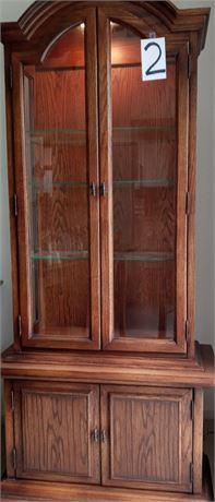 Curio Cabinet - Lighted