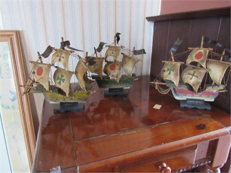 Columbus Ships: Nina Pinta & Santa Maria