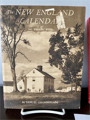 The New England Calendar Engagement Book 1941 by Samuel Chamberlain Photos