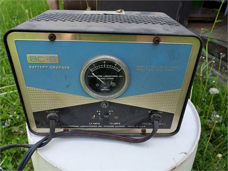 Vintage Electrotone BC-6 Battery Charger