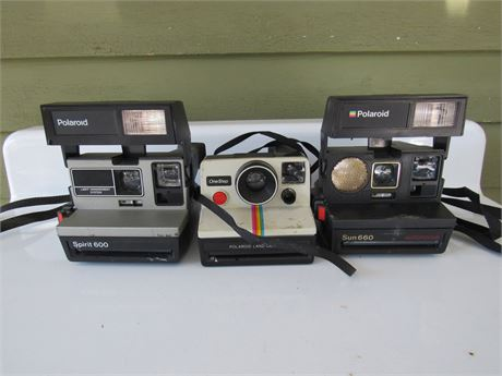 Polaroid Instant Camera Lot
