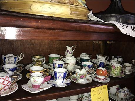 Miniature Cups & Saucers