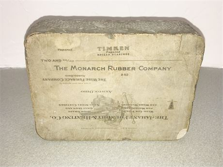 Antique Akron, Ohio Printing Stone with Multiple Images