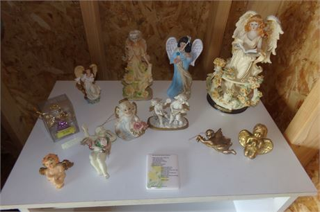 Angel figurines, ornaments