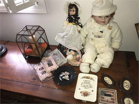 Dolls and Decorative Lot