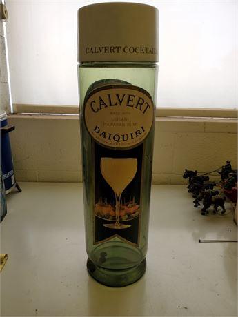 Vintage Calvert Daiquiri Coin Bank