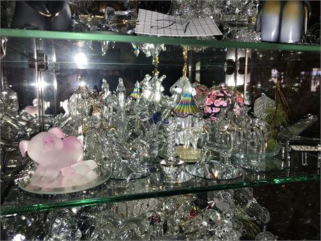 Crystal Figurines Lot with Prisms - 30% to 50% Swarovski