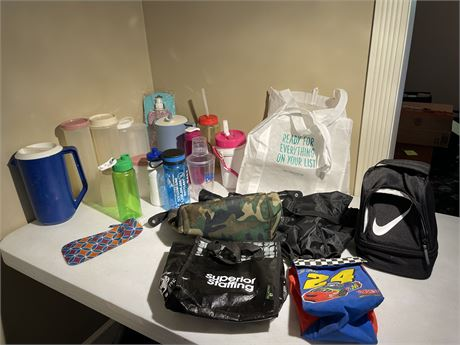 Bags, Lunch Bags, Tupperware and More
