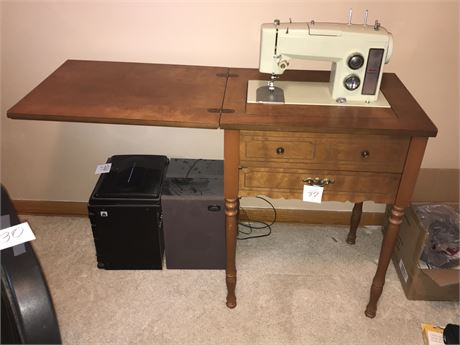 Sears Kenmore Cabinet Sewing Machine
