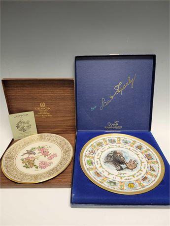 Goebel and Lenox 1970's Collectors Plates