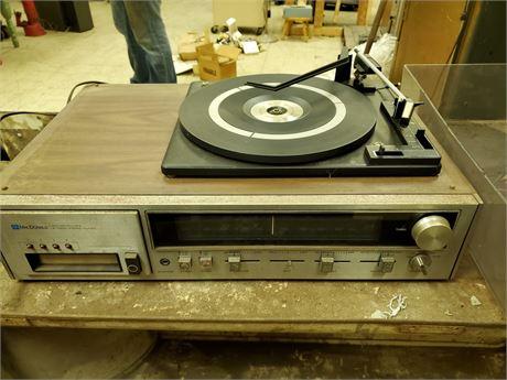 Macdonald STP-400 Stereo 8-Track  w/ BSR Turntable