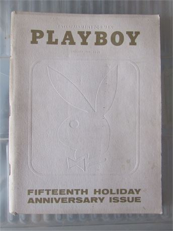 Playboy 1969 15th Anniversary Issue