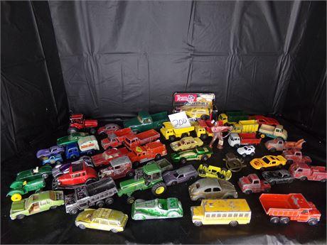 Hot wheels and matchbox cars
