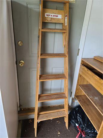 6ft Wooden Werner Ladder