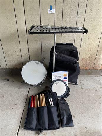 VERVE DRUM, PRACTICE PAD, Bells/xylophone