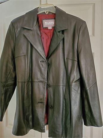 Wilsons Leather Women's Black Leather Jacket