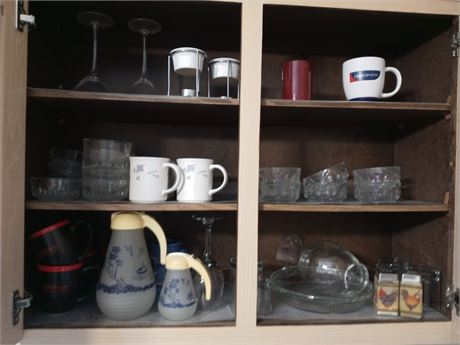 Kitchen Cupboard Clean Out: